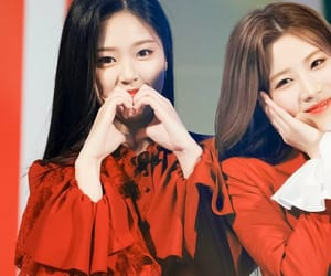 hyunjin, loona, and kim lip image
