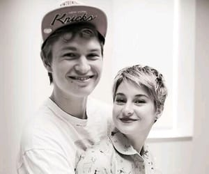 Shailene Woodley, caleb prior, and ansel elgort image