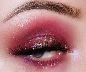 aesthetic, eye, and eyelash image