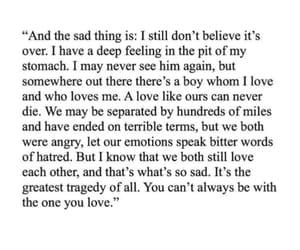 break up, broken heart, and hurt image