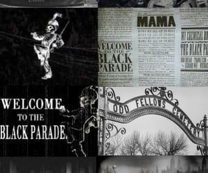 black and white, dark, and emo image