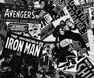 Avengers, photography, and black and white image