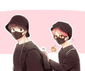 fanart, bts, and jikook image