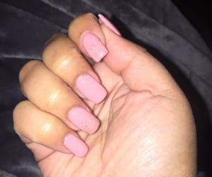 nail polish, nail salon, and pink image