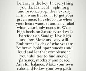 balance, health, and life image