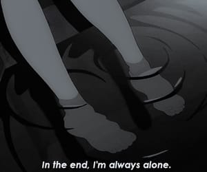 alone, sad, and anime image
