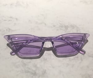 purple, aesthetic, and sunglasses image