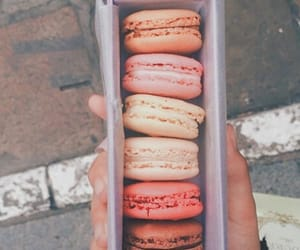 carefree, food, and macaroons image