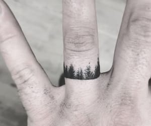 finger, forest, and ideas image