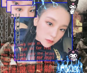 cyber, goth, and korean girl image