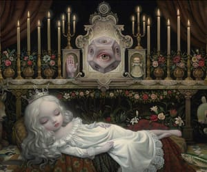 art, Mark Ryden, and painting image