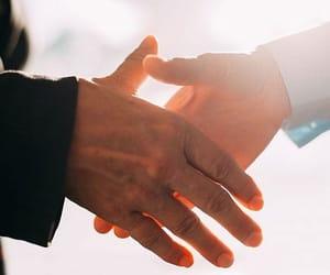 hands and handshake image
