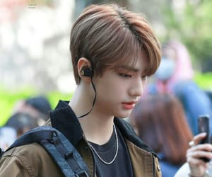 Chan, stray kids, and felix image