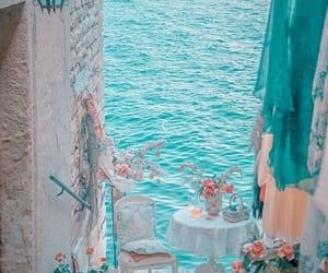 beach, blue, and Croatia image