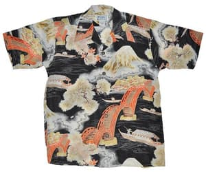 fashion, hawaii shirt, and mens hawaiian shirt image