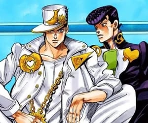 jojo, jjba, and josuke image