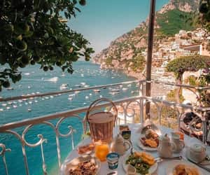 travel, breakfast, and place image