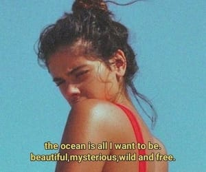 girl, ocean, and pretty image