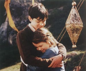 narnia, Lucy, and edmund image