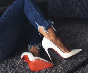 fashion, heels, and louboutin image