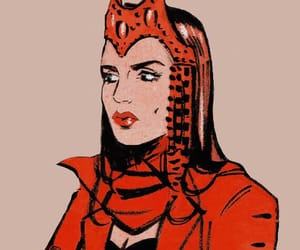 mine, scarlet witch, and marvel comics image