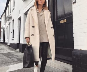 coat, fashion, and girl image