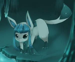 eevee, ice, and pokemon image
