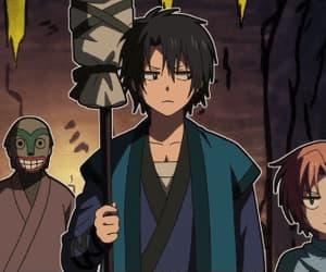anime, hak, and yona of the dawn image