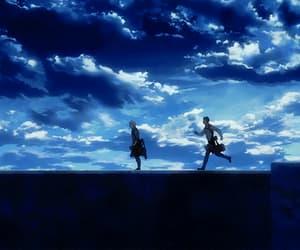 anime, anime boy, and anime scenery image