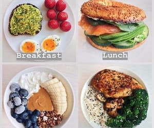 healthy food, dinner ideas, and breakfast ideas image