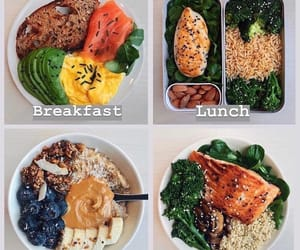 healthy food, breakfast ideas, and healthy food ideas image