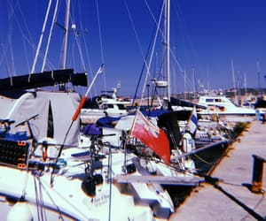 port, sea, and sunny day image