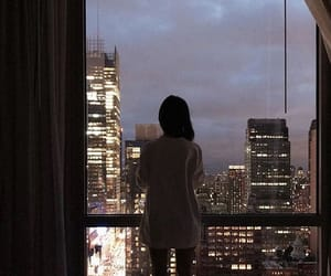girl, city, and beautiful image