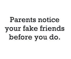 parents, friends, and quotes image