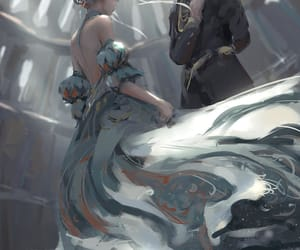 dress, oath, and iceprincess image