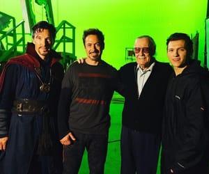 Marvel, robert downey jr, and benedict cumberbatch image