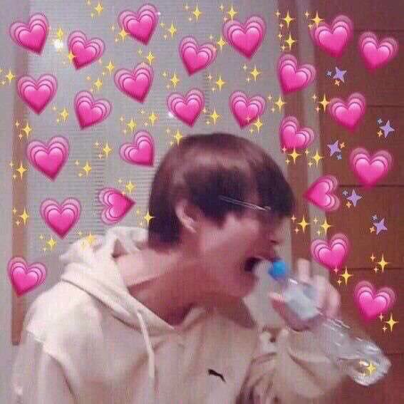 Cute Meme Of Taetae Discovered By Moonchild On We Heart It