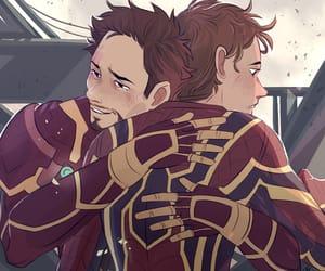 Avengers, tony stark, and marvelfamily image
