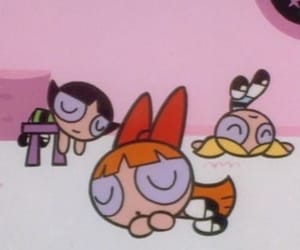 ppg, bubbles, and powerpuff girls image