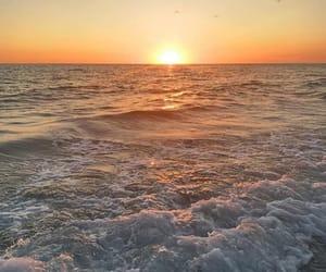 beach, florida, and photography image