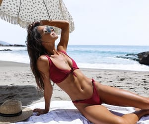 beach, summer, and Laguna Beach image