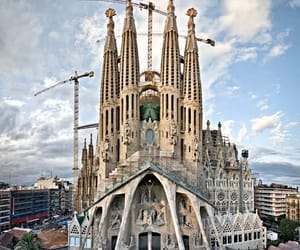 Antoni Gaudi, architecure, and castle image
