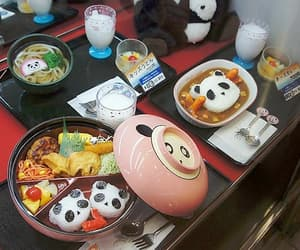 japan, food, and panda image