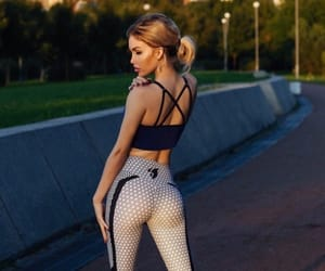 fashion, fitness, and girls image