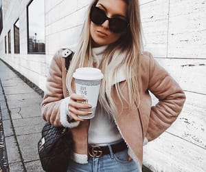 casual, girly, and winter fashion image