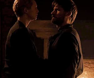 gif, brienne of tarth, and jaime lannister image