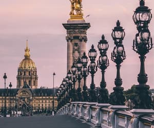 paris, photography, and pont alexandre III image