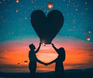 amazing, balloon, and romantic image