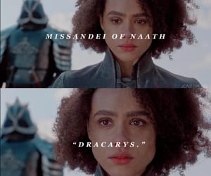 game of thrones and missandei image