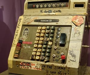 amount, old, and cash register image